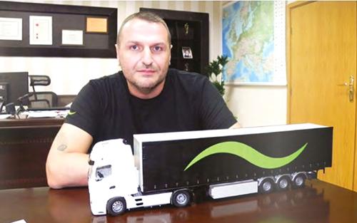 Георги Вълканов в сп. Камиони